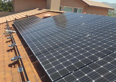 Solar assembly IQ7 Enphase