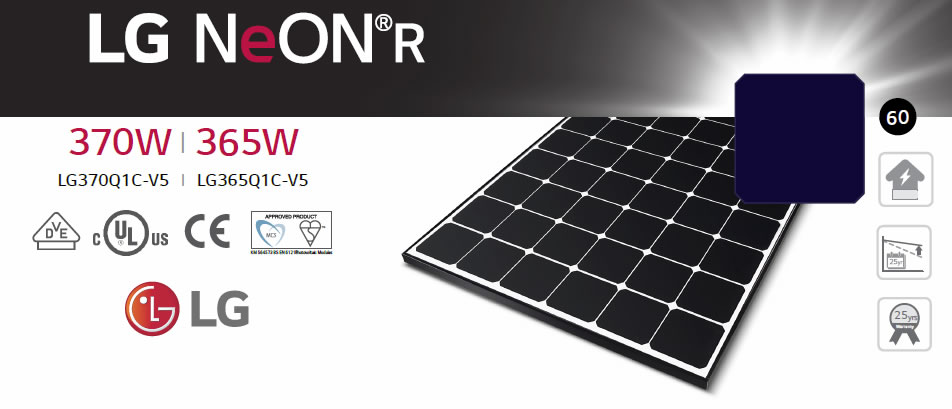 LG Neon 2 panels